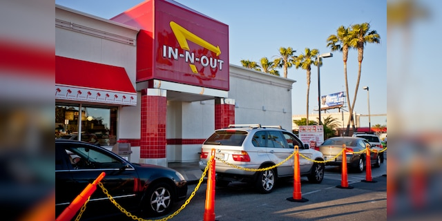 """When the outbreak was first reported to Colorado locations (not pictured), Denny Warnick, vice president of operations at In-N-Out, said the affected staff and those they had been in contact with """"They were excluded from the workplace."""""""