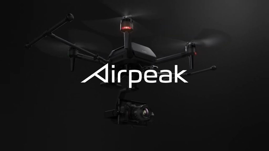 Sony reveals design and release schedule for the Airpeak drone