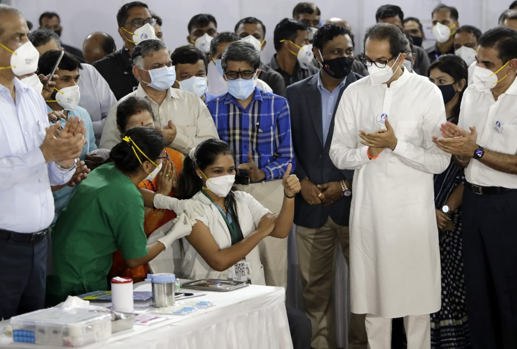 India launches 'largest in the world' COVID-19 vaccination campaign