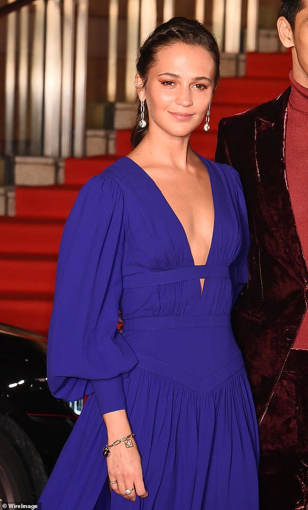 Jury Duty: Alicia Vikander is one of three actresses to be announced as part of the BAFTA EE Rising Star Award Committee for the 2021 shortlisted