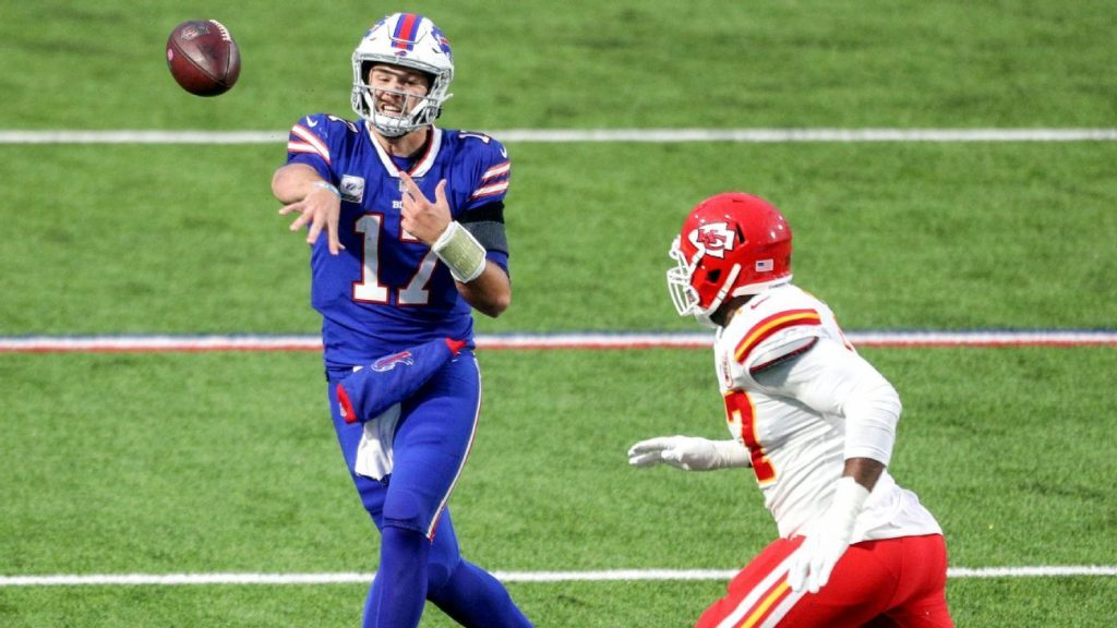 Bucs-Packers and Bills-Chiefs picks, schedule, odds, injuries, predictions and more for AFC and NFC tournaments