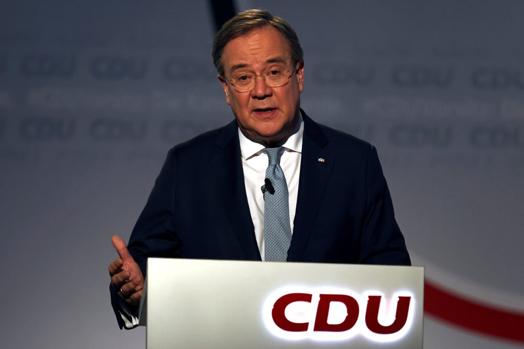 Armin Laschet was chosen as the new leader of the Christian Democratic Union in Germany