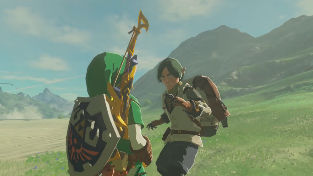 """Breath of wild NPCs appears to depend on the """"advanced"""" Miis"""