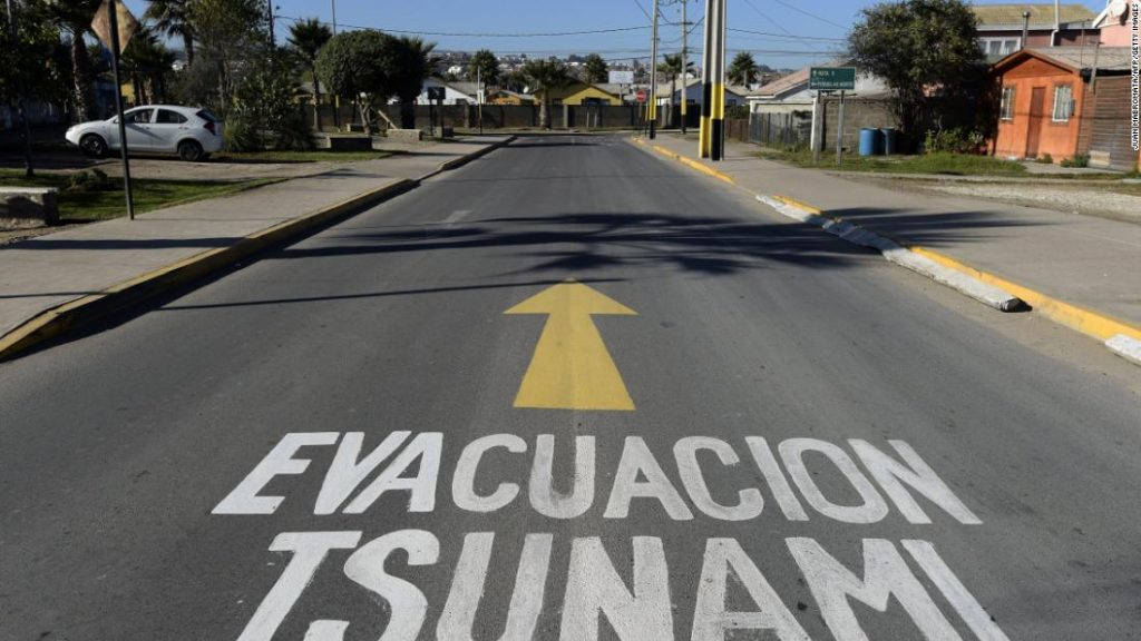 Chilean earthquake: authorities sparked national panic by mistakenly sending out a tsunami warning after the Antarctic earthquake