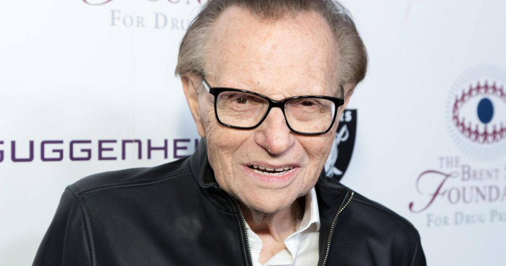 Larry King moved out of the ICU amid the coronavirus battle