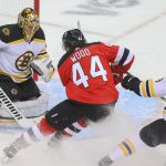 "Miles Wood ""Selfishness"" reacts to game-changing penalties in the Devils Bruins"
