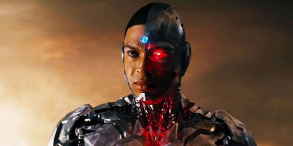 Ray Fisher Cyborg is writing from the DC movie