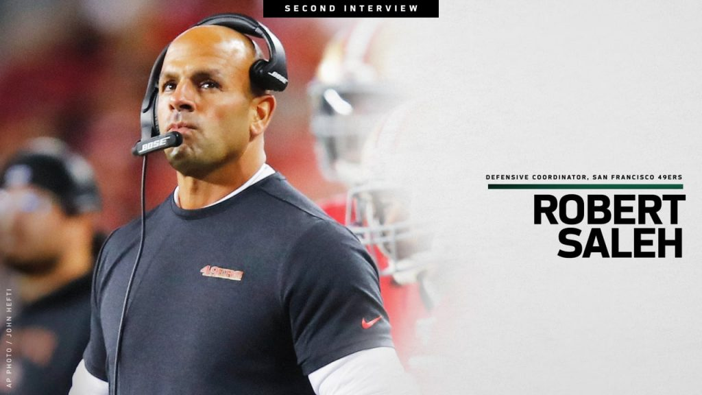 Robert Saleh's interview ended the second round