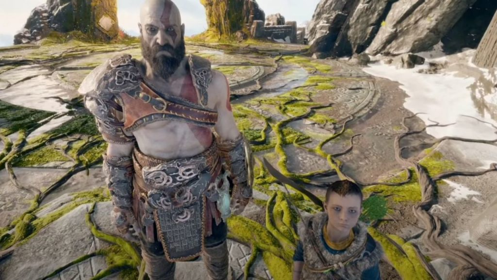 The God of War First-Person Mod app presents the game from a new perspective